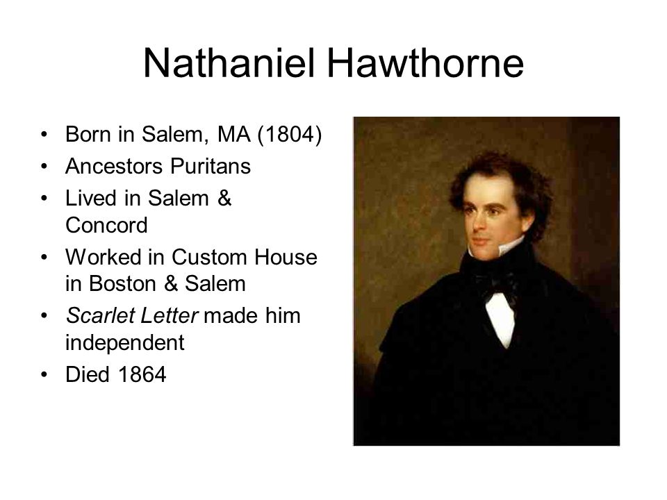 herman melville and nathaniel hawthorne show Nathaniel hawthorne was born in salem  herman melville, among others  show full bio ↓ sparknotes the.