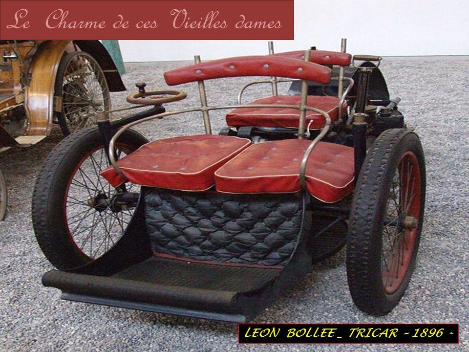 LEON BOLLEE _ TRICAR – 1896 - Le Charme de ces Vieilles dames