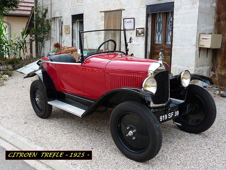 CITROEN TREFLE – 1925 -