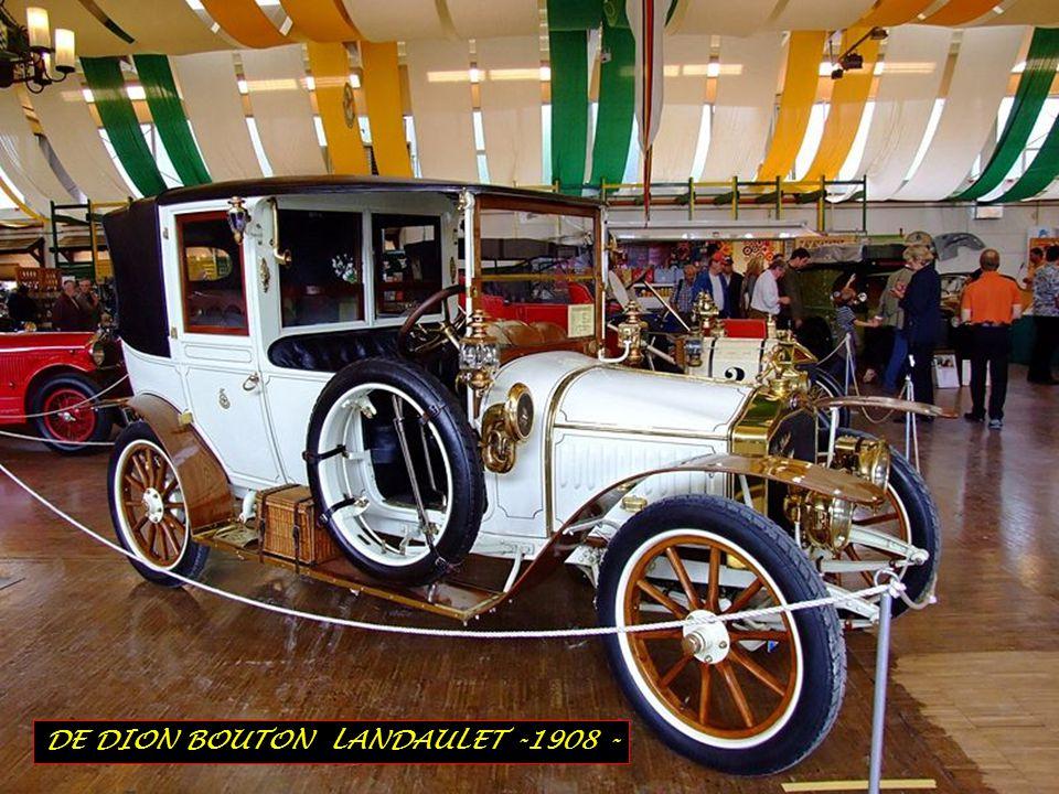 DE DION BOUTON LANDAULET -1908 -