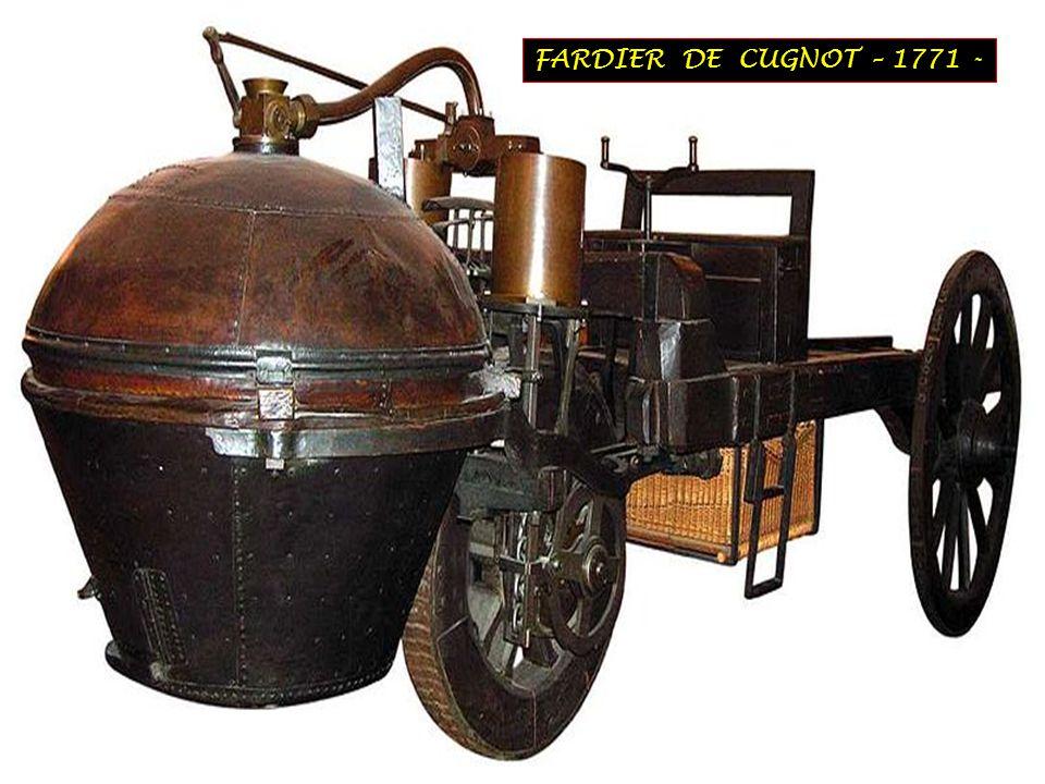 FARDIER DE CUGNOT – 1771 -