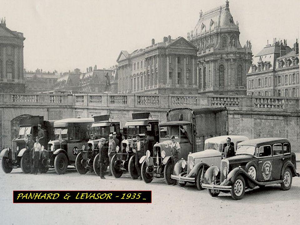PANHARD & LEVASOR – 1935 _