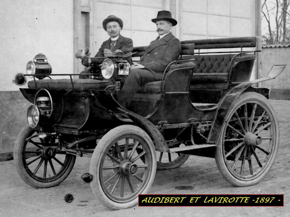 AUDIBERT ET LAVIROTTE -1897 -