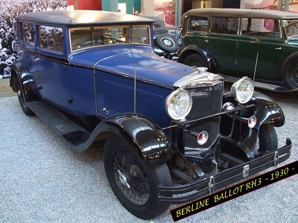 BERLINE BALLOT RH3 – 1930 -