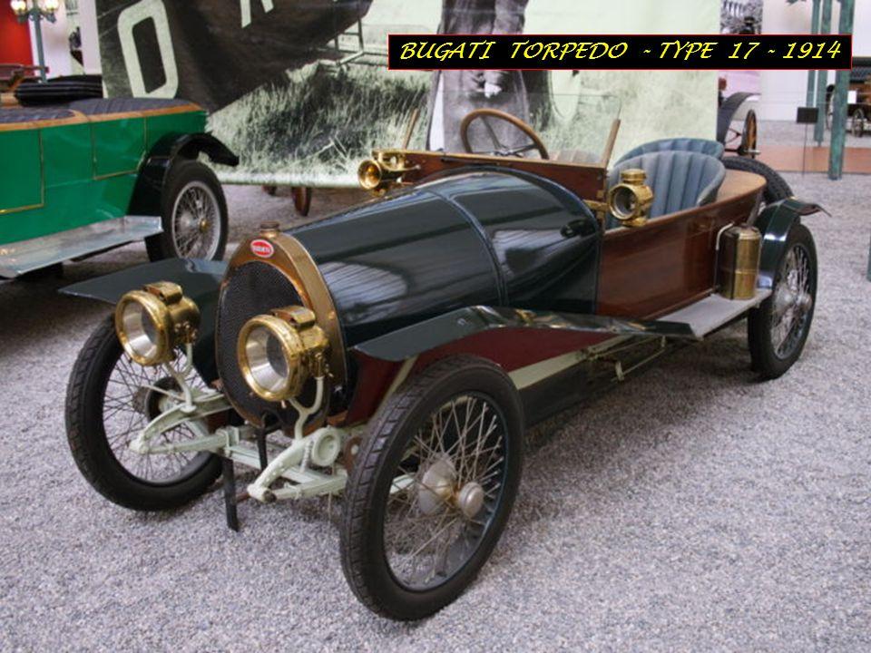 BUGATI TORPEDO - TYPE 17 - 1914