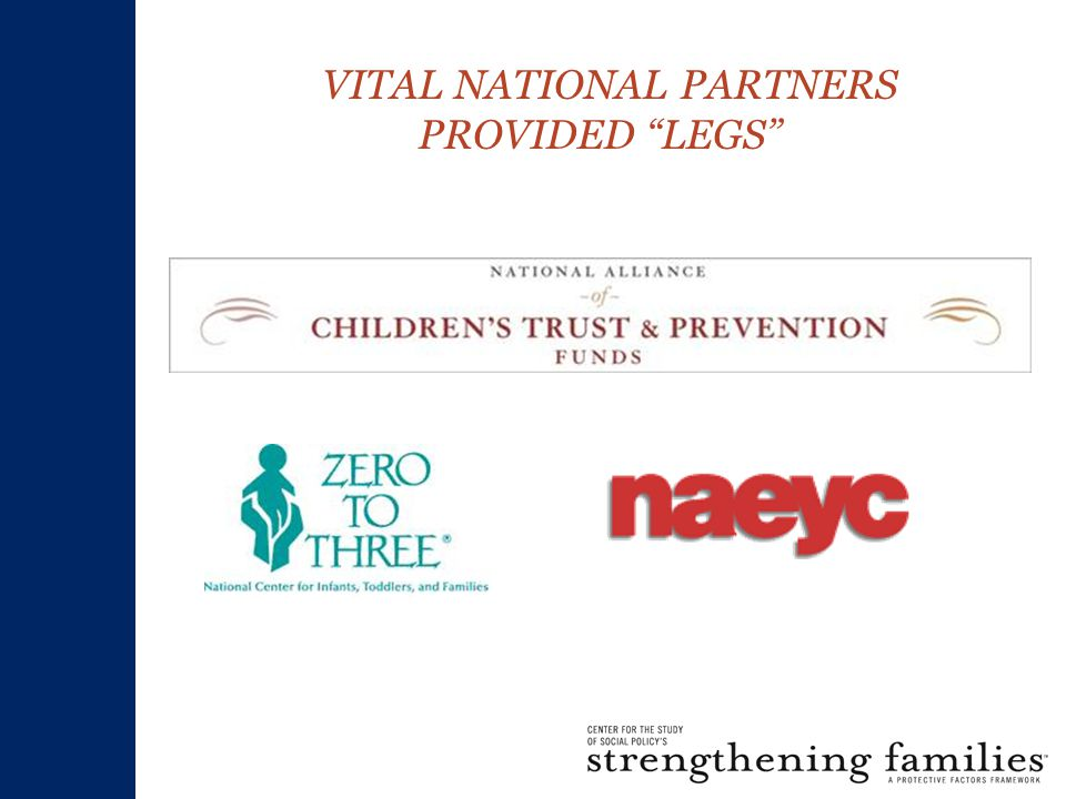 VITAL NATIONAL PARTNERS PROVIDED LEGS