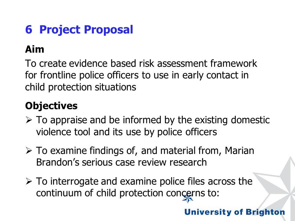Child Protection Risk Assessment Frameworks Dr Julia Stroud Dr