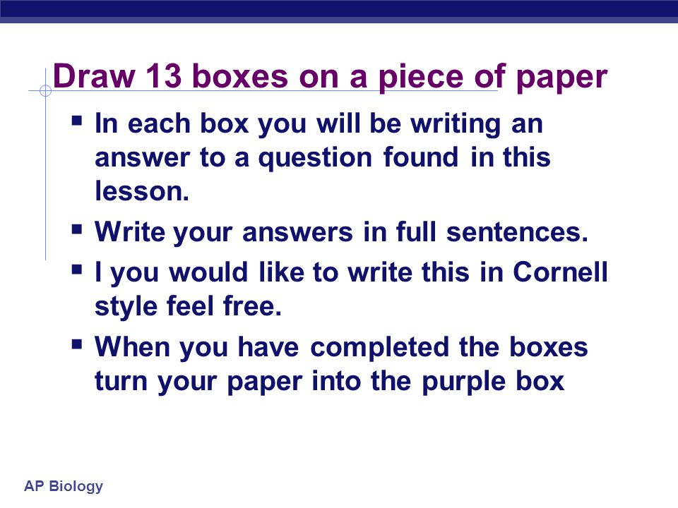 ap biology cell essay questions