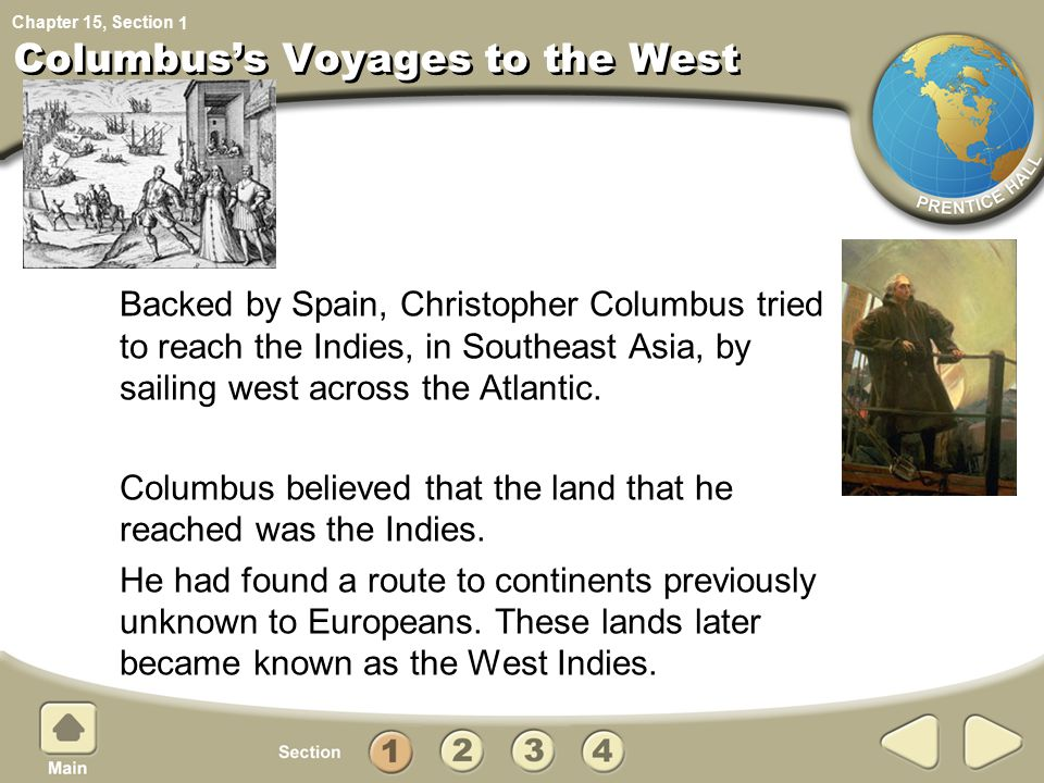 what impelled european explorers to look west across the atlantic European explorers hoped to find riches in distant countries these africans were then transported across the atlantic to the west indies and merchants brought.