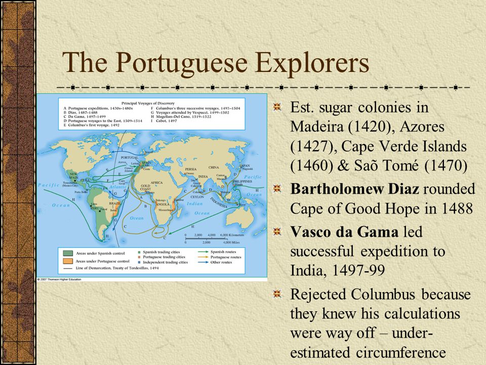 The Portuguese Explorers Est.