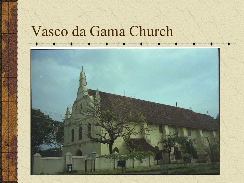 Vasco da Gama Church