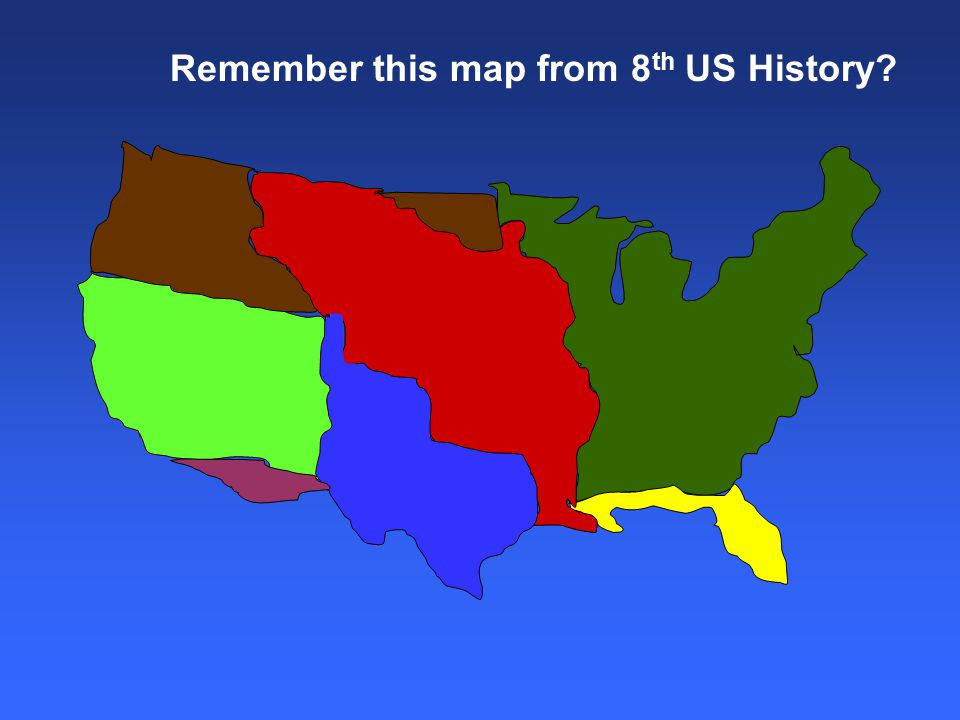 7 Remember This Map From 8 Th Us History
