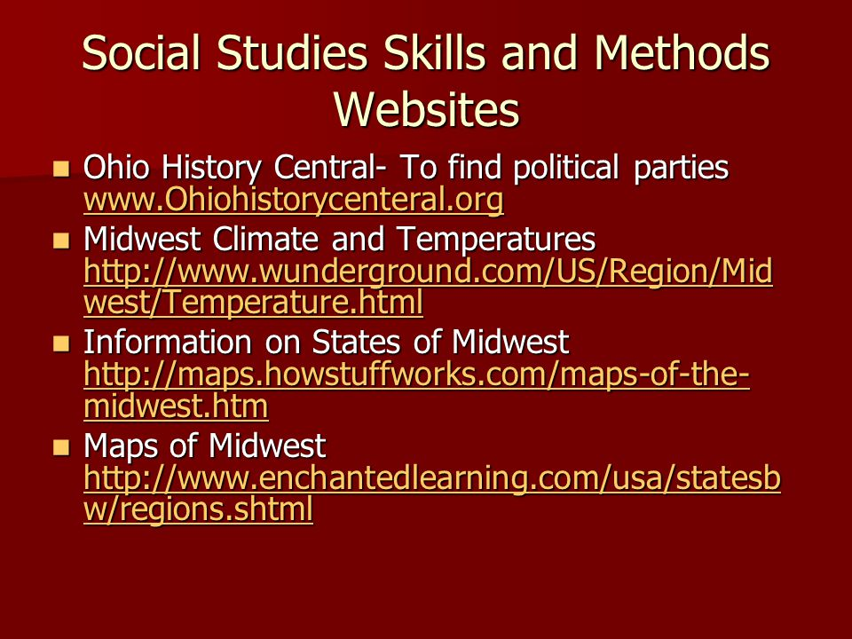 Ohio Academic Content Standards Social Studies Ed Katie - Wunderground ohio