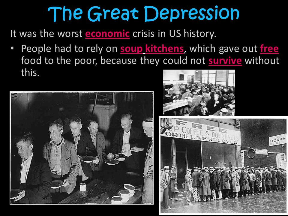 the great depression was an economic