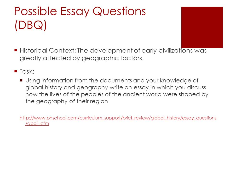 regents us history dbq january 2005 Global history & geography regents end of 10th grade and is administered in january essay and document-based question essay are accompanied by a.