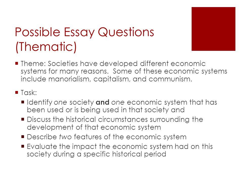 Essay About Economics