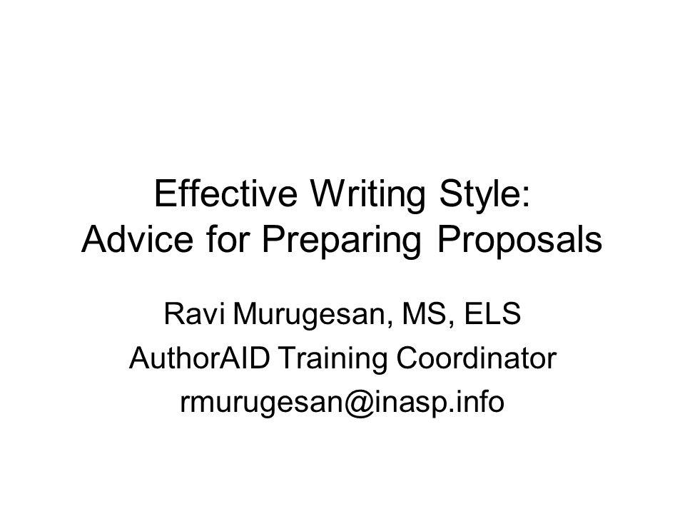 Authoraid Workshop On Proposal Writing Rwanda June Ppt Download