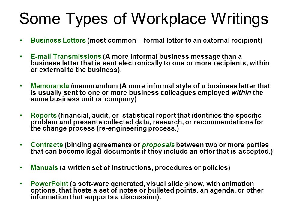 Writing A Business Report Sample. Basic Business Writing A Student