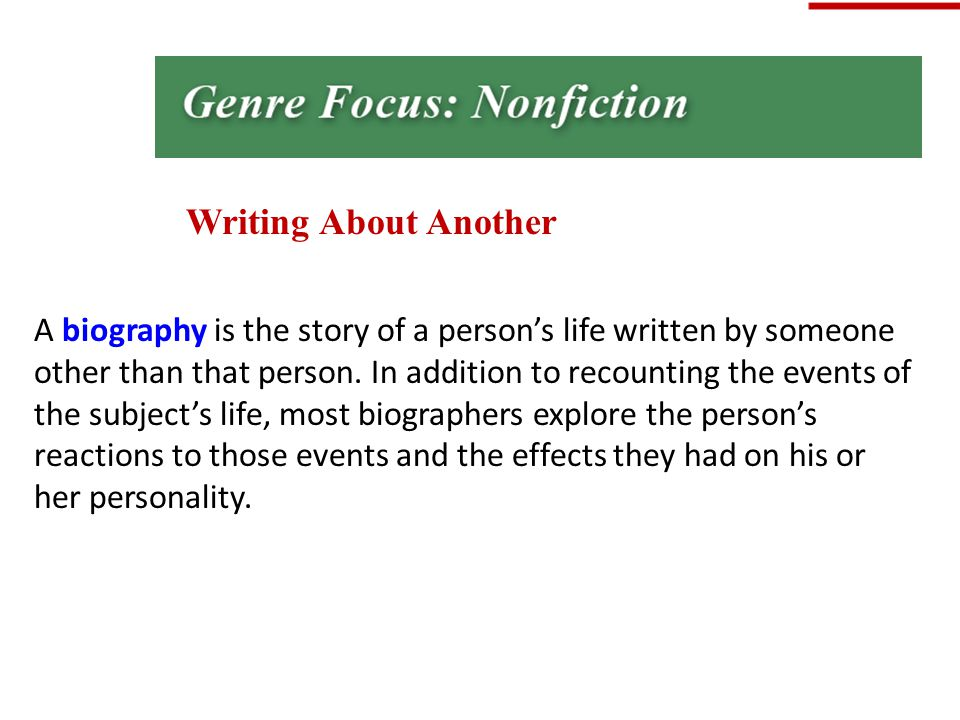 the essay is a nonfiction genre. true false Review the characteristics of fiction and nonfiction and expand students' knowledge by distinguishing between examples of fiction and nonfiction texts h : have students work together to create a chart listing characteristics of fiction and nonfiction and indicate how nonfiction texts are organized.