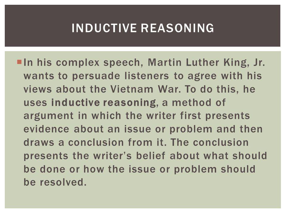 Persuasive talking techniques