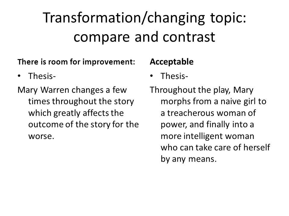 practice thesis sentences