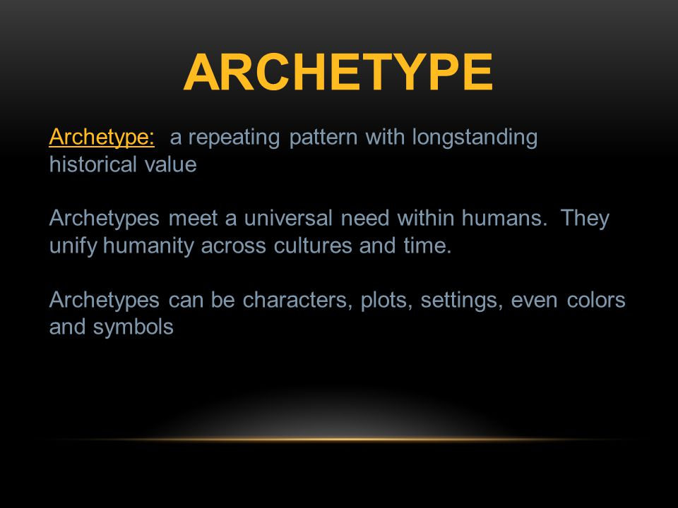 Archetypal Symbols Characters And Stereotypes What Are A Few