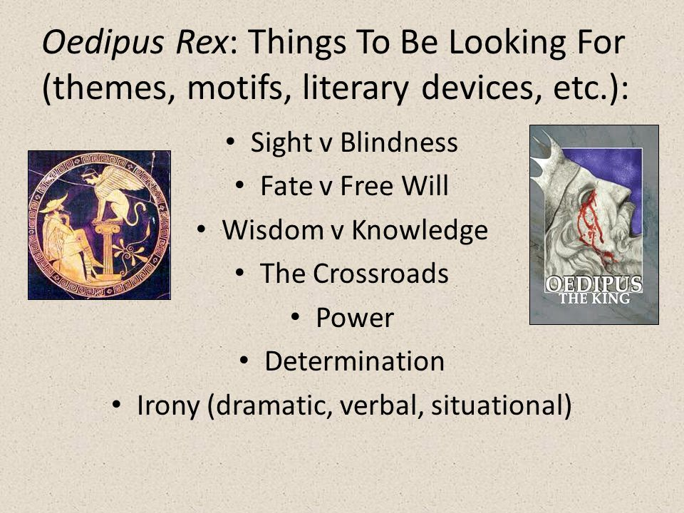 Oedipus rex essay fate vs free will
