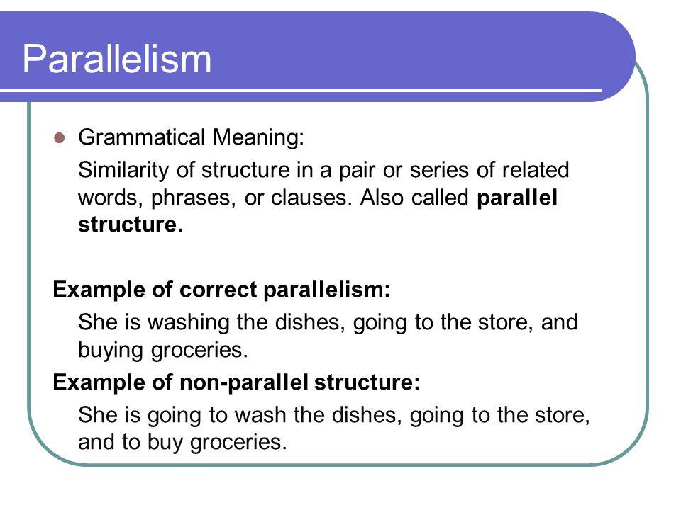 Parallelism Margarita Y Alexis M Per6 Thinglink