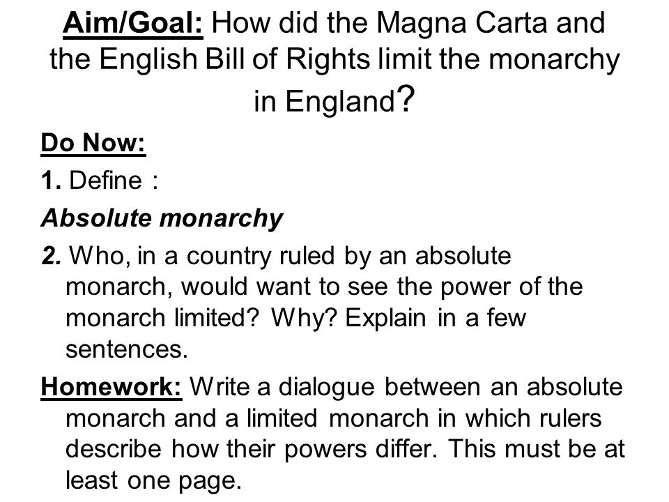 the impact of the magna carta and the american constitution by king john of england