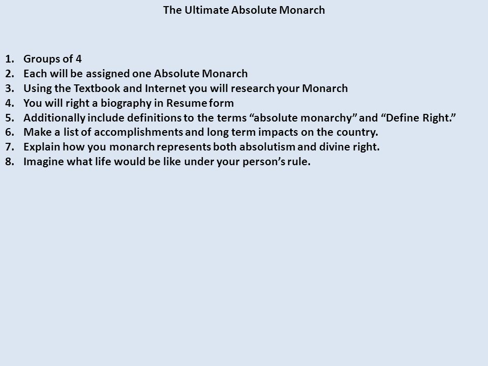 absolute monarchs in europe the end of feudalism led to stronger