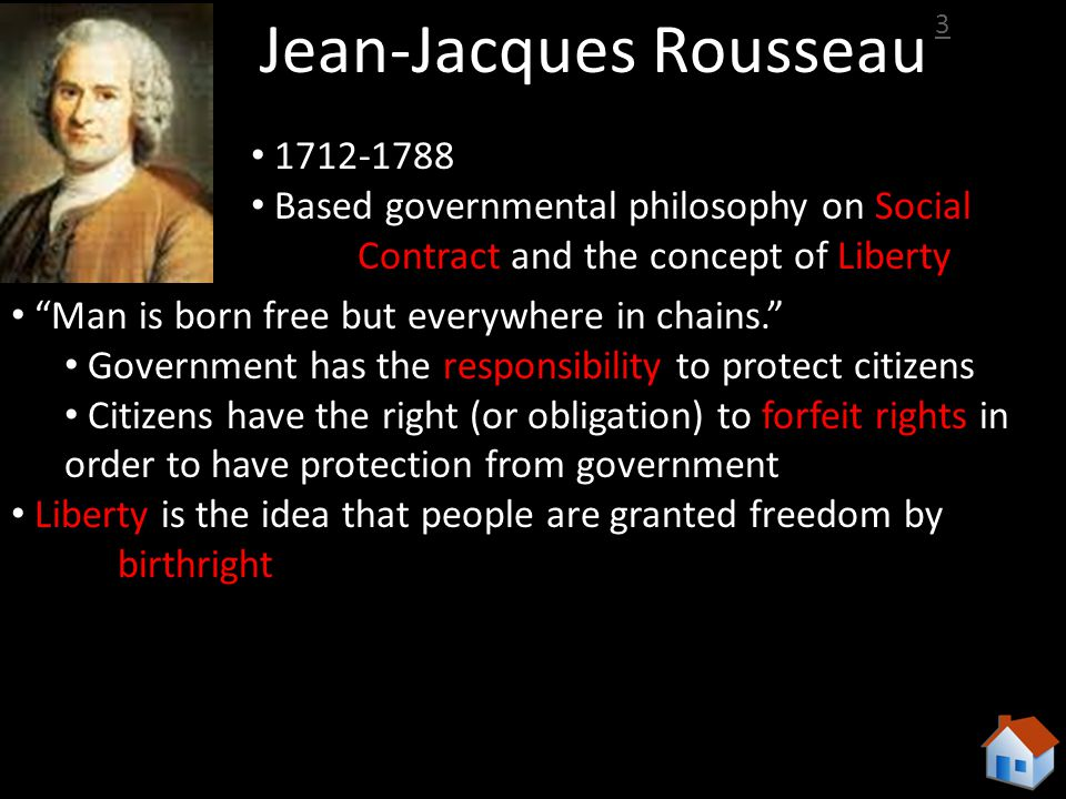 the philosophies of jean jacques rousseau