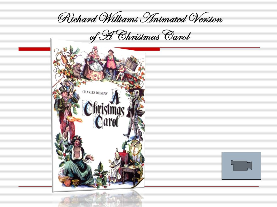 Richard Williams Animated Version of A Christmas Carol