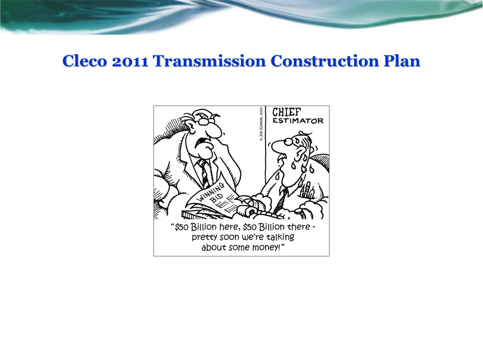 Cleco 2011 Transmission Construction Plan