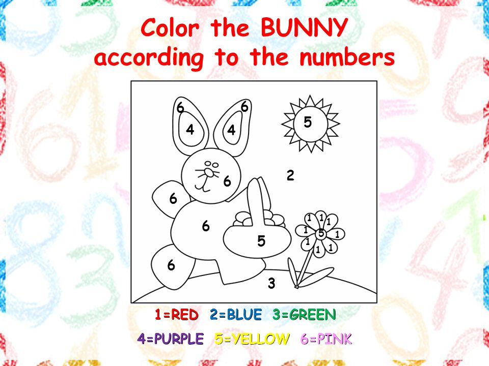 COLORING WITH NUMBERS. NumbersNumbers NumbersNumbers ppt download
