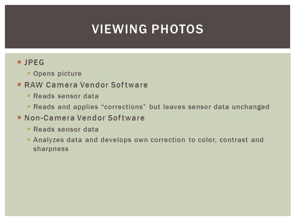 sensor data jpeg