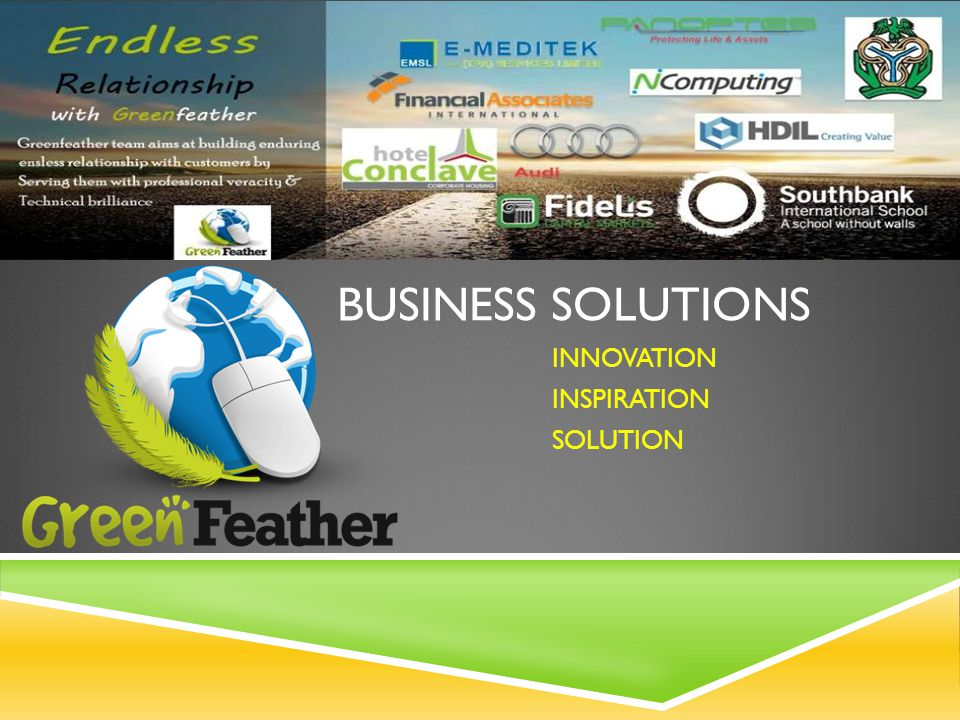 BUSINESS SOLUTIONS INNOVATION INSPIRATION SOLUTION