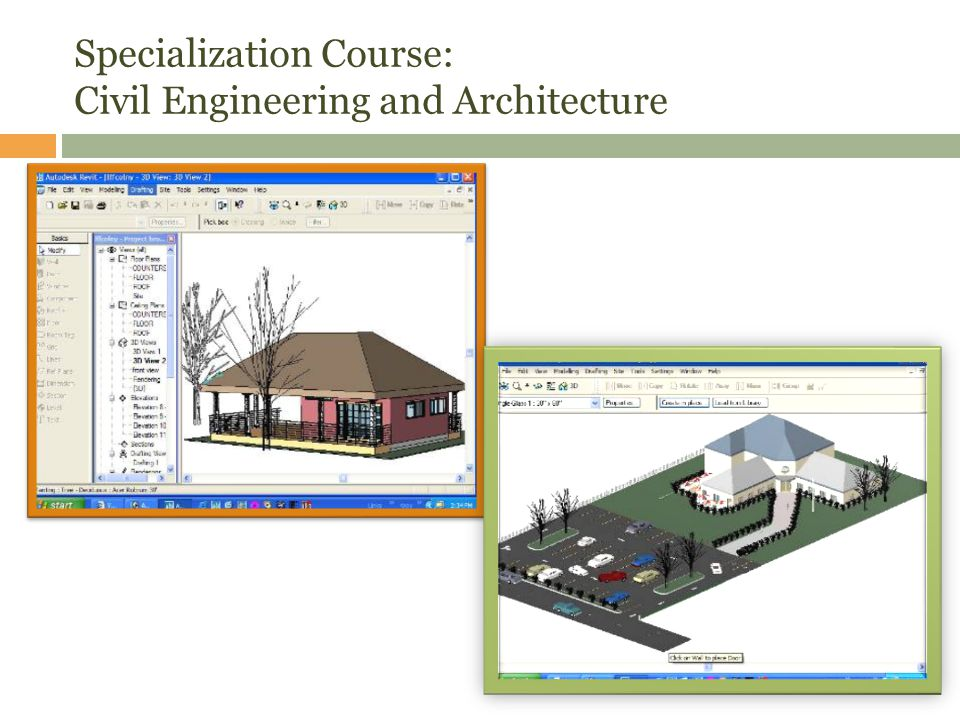 Specialization Course: Civil Engineering and Architecture