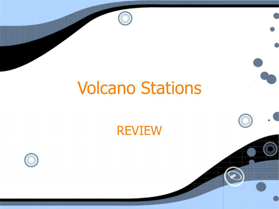 Volcano Stations REVIEW