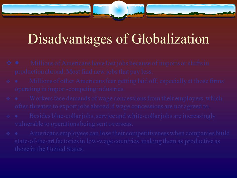 Introduction to Globalization  What is GLOBALIZATION .
