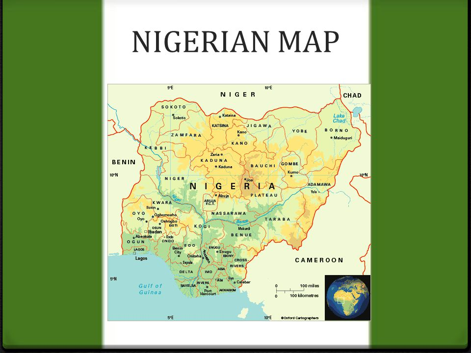 NIGERIA MY PRIDE NIGERIAN MAP Nigeria Location And Size - Where is nigeria located