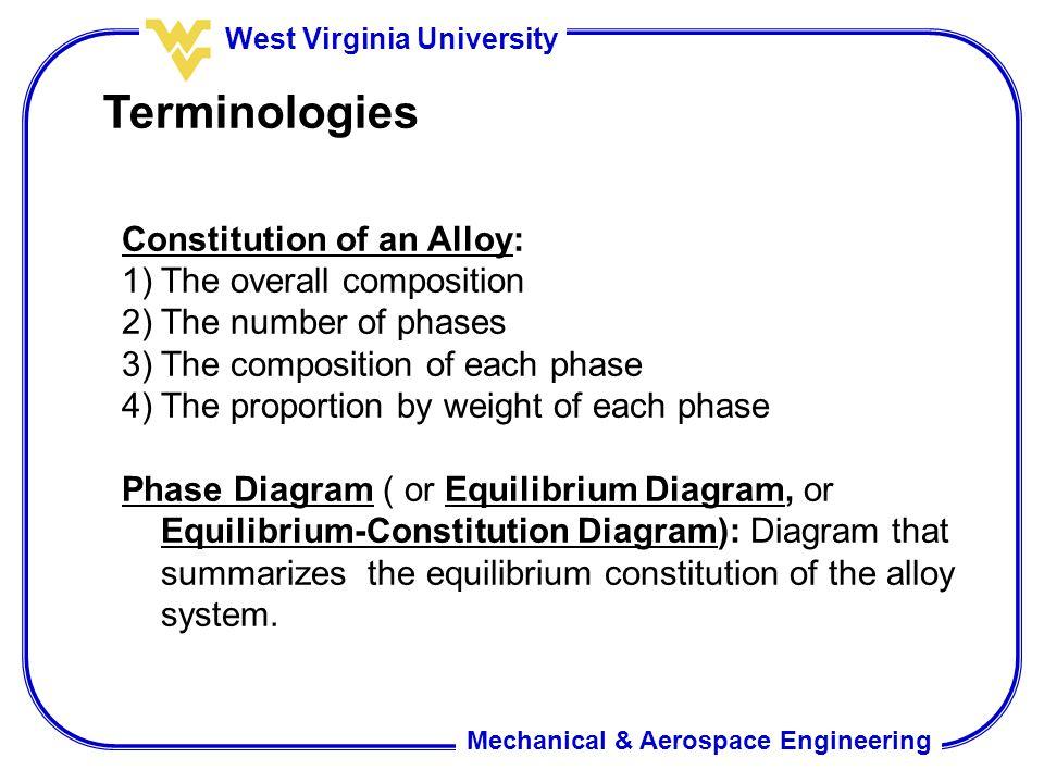 Mechanical & Aerospace Engineering West Virginia University Phase ...