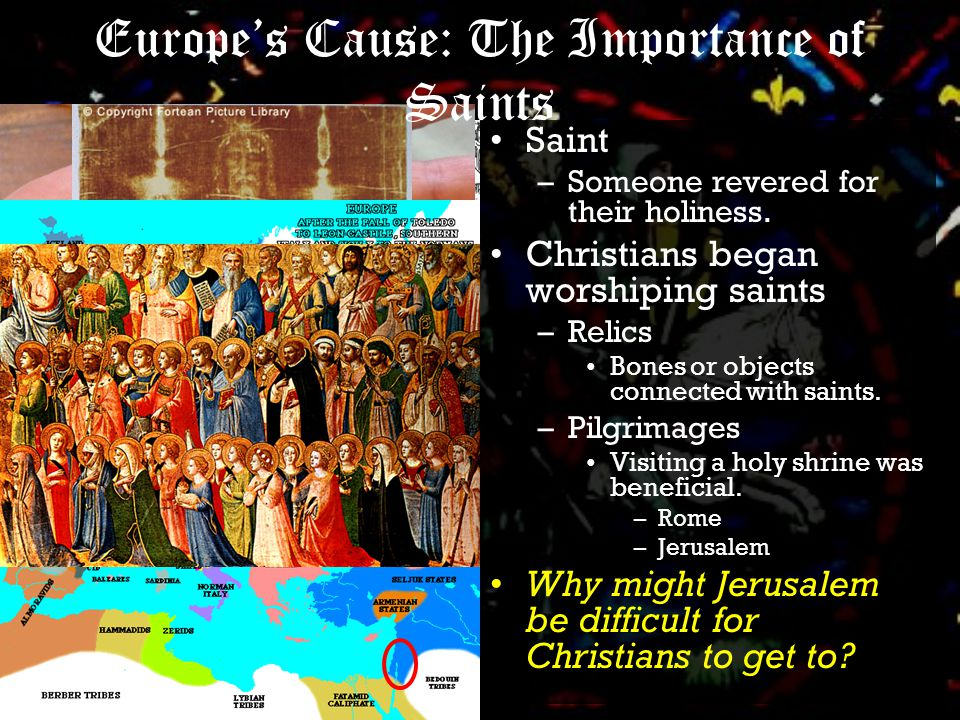 Cause: Expansion of The Seljuk Turks In 1055, a Turkish leader captured Baghdad and claimed himself sultan, or holder of power. Under new Turkish leadership, the Arab Empire began to increase pressure on their neighbors, the Byzantine Empire…