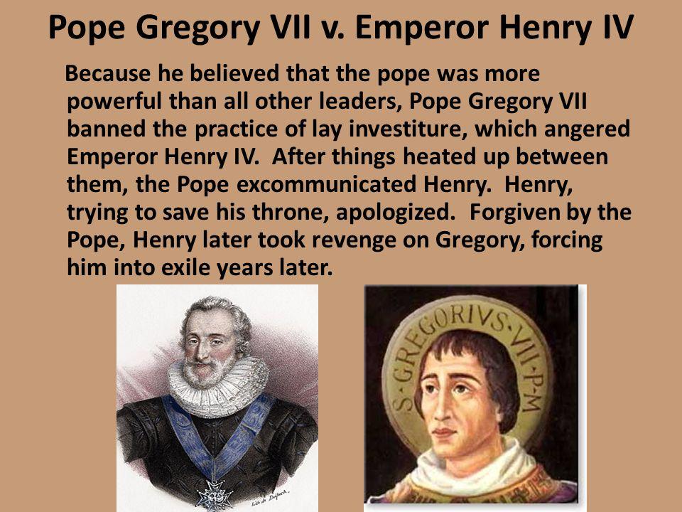 Pope Gregory VII v.