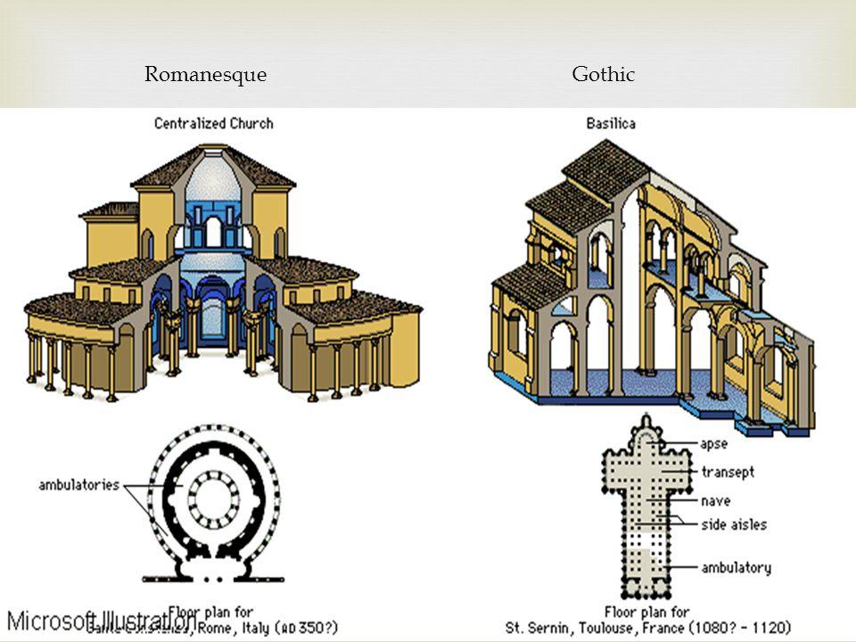  RomanesqueGothic