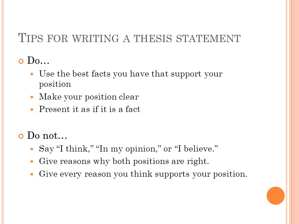 narrative essay thesis examples