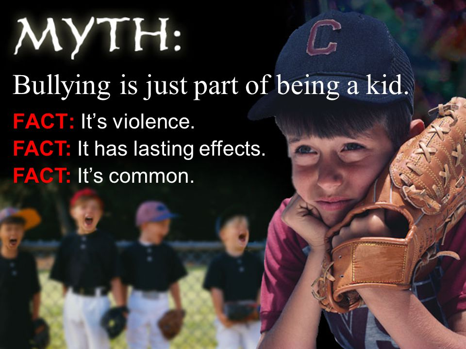 FACT: It's violence. FACT: It has lasting effects.