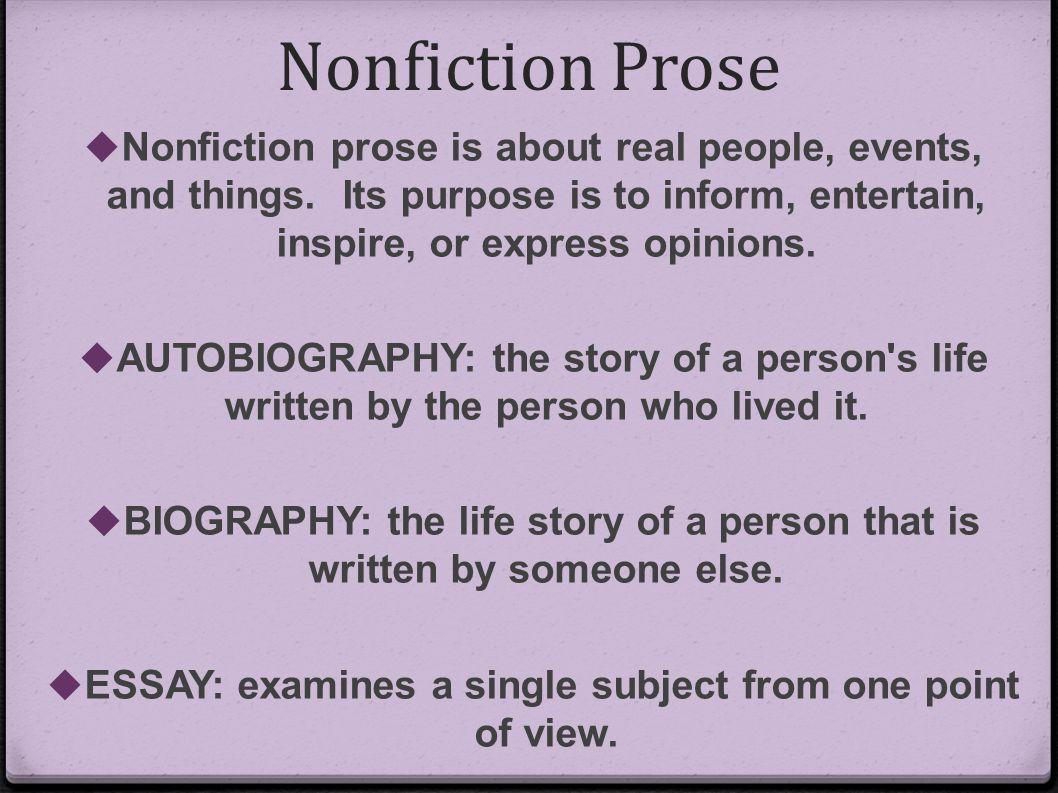 purpose essay Educational Purpose
