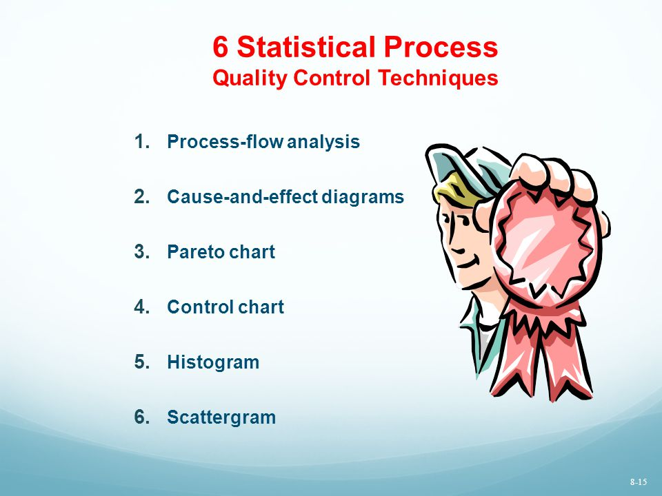 6 Statistical Process Quality Control Techniques 1.