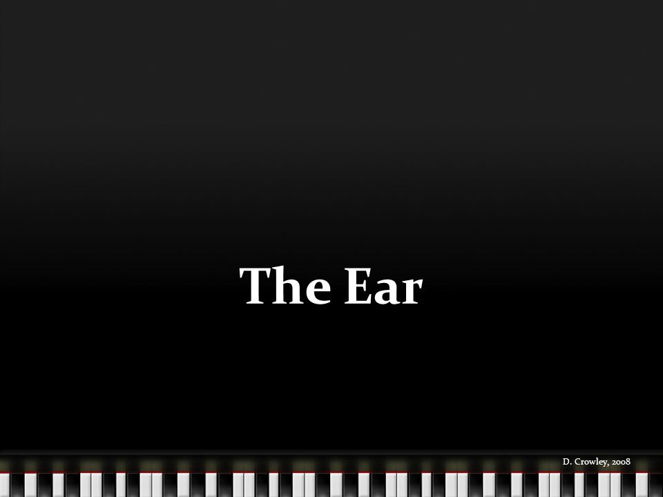 The Ear D. Crowley, 2008