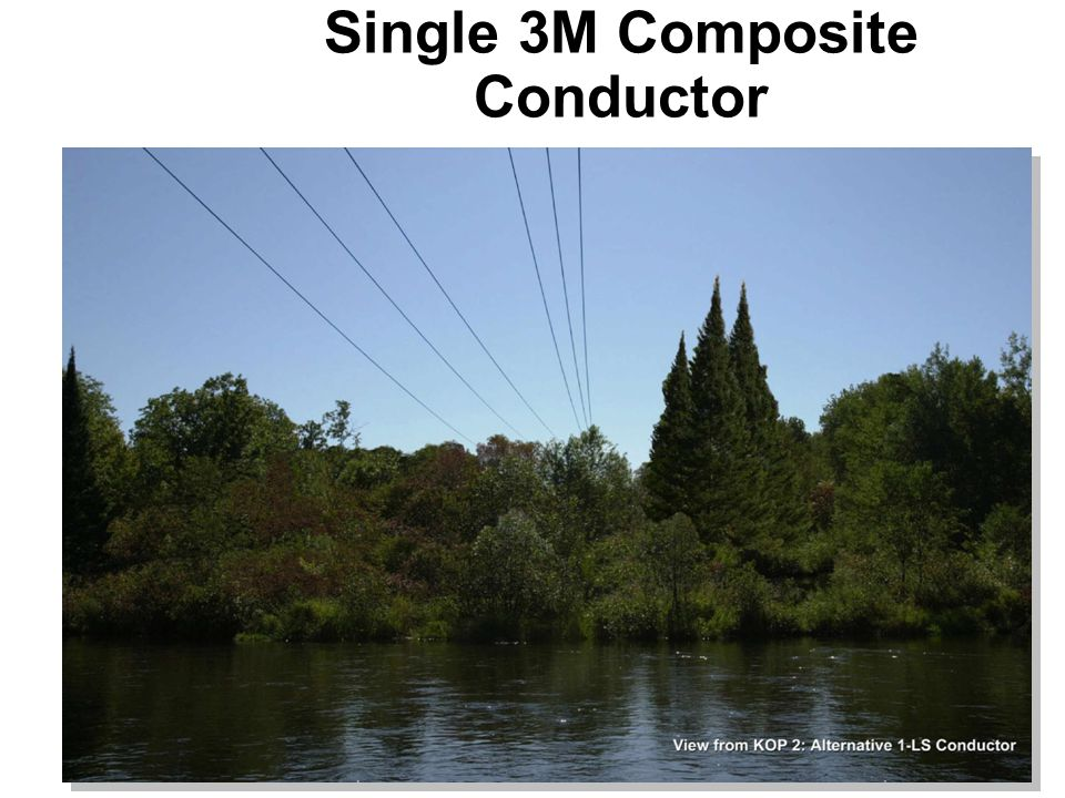 Single 3M Composite Conductor